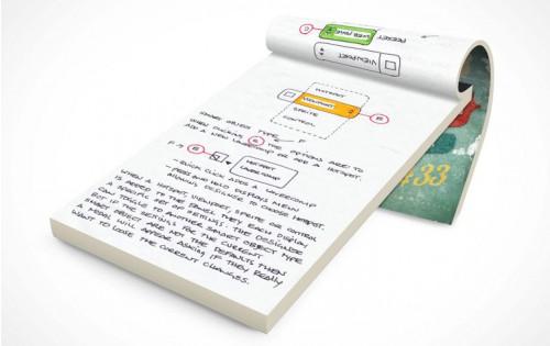 Bloc Note collé A6 portrait pas cher