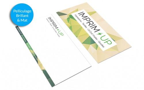 Carte de correspondance 10,5x21cm Pelliculage