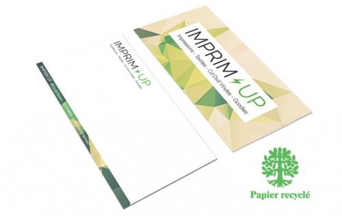 Carte de correspondance écologique 10x21