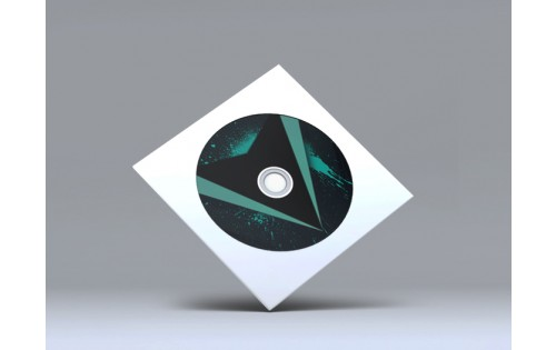 Pochette plastique CD duplication