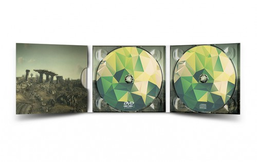 Digipack 3 volets 1 CD + 1 DVD9