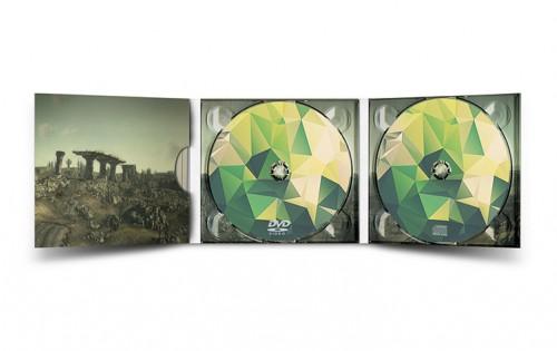 Digipack 3 volets 1 CD + 1 DVD