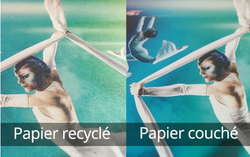 Flyer papier recyclé