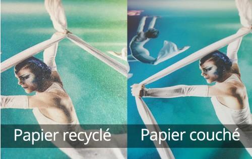 Flyer recyclé