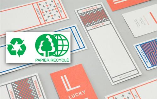 Marque page 50 x 140 mm - Papier Recyclé
