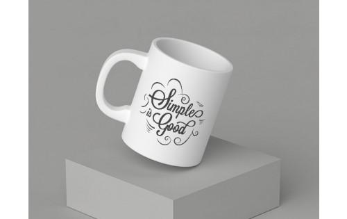 Mug 30cl céramique blanc standard 82 x 95mm