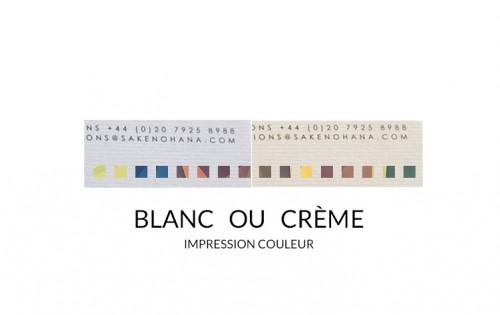 Papier entête (ou papier à lettre) Texturé - Impression couleurs quadri