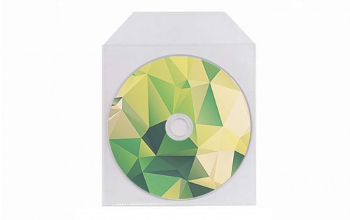 Pochette plastique CD / DVD