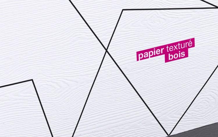 Carte De Visite Papier Texture Bois 85 X 55 Mm