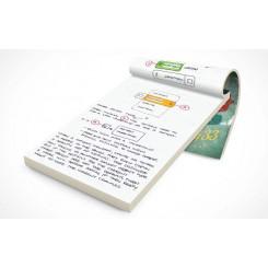 Bloc Note A4 avec couverture