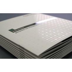 Brochure agrafée carrée 21 x 21 cm - Pelliculage + Vernis Sélectif