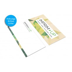 Carte de correspondance 21 x 10 cm - Pelliculage