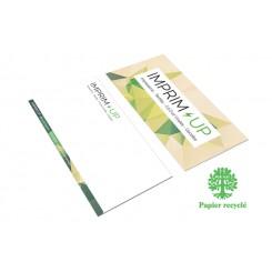 Carte de correspondance 21 x 10 cm - Recyclé