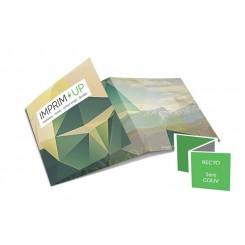 Dépliant carré - pli accordéon - 6 pages