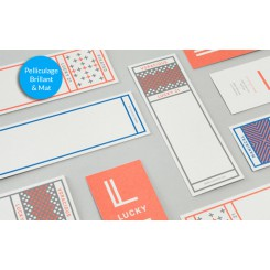 Marque page 55 x 173 mm - Pelliculage