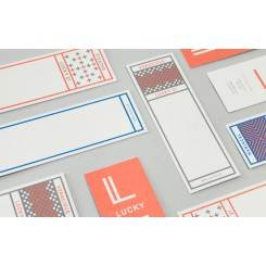 Marque page 55 x 173 mm - Standard
