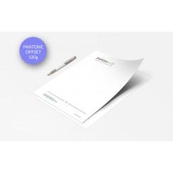 Papier entête (ou papier à lettre) Offset - Impression couleurs quadri