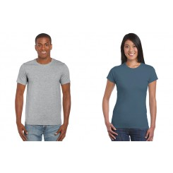 Gildan Ringspun - modèles Homme et Femme