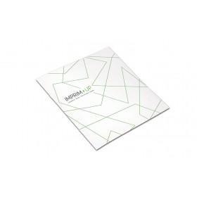 Brochure agrafée carrée 12 x 12 cm - Papier couché 250g + 135g