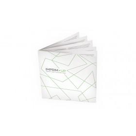 Brochure agrafée carrée 21 x 21 cm - MAT 90g
