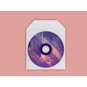 Pochette plastique CD pressage