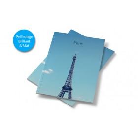 Brochure dos carré collé avec pelliculage