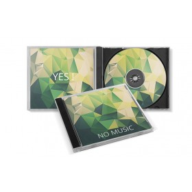 Boitier cristal - Jewel box pour CD et DVD