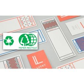 Marque page 54 x 210 mm - Papier Recyclé
