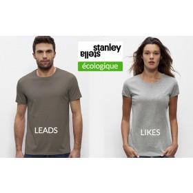Stanley & Stella coton organique Homme LEADS + Femme LIKES