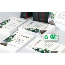 Carte de visite 90 x 50mm - Papier Recyclé