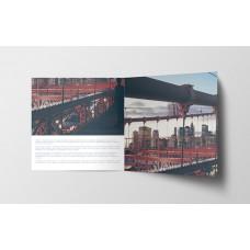 Dépliant carré 14,8cm - 4 pages - 2 volets - classique