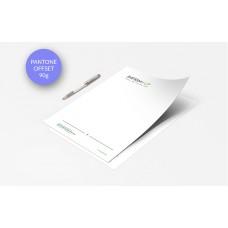 Papier à lettre - Pantone Offset 90g