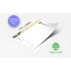 Papier à lettre - Pantone Recyclé 90g