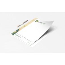 Papier à lettre A4 - Quadri Offset + Recyclé