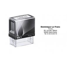 Tampon plastique standard - Colop 30