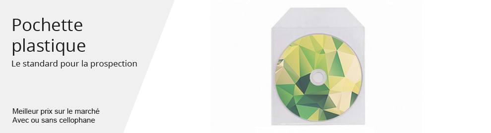 Duplication pochette plastique dvd5 dvd9 - menu banniere