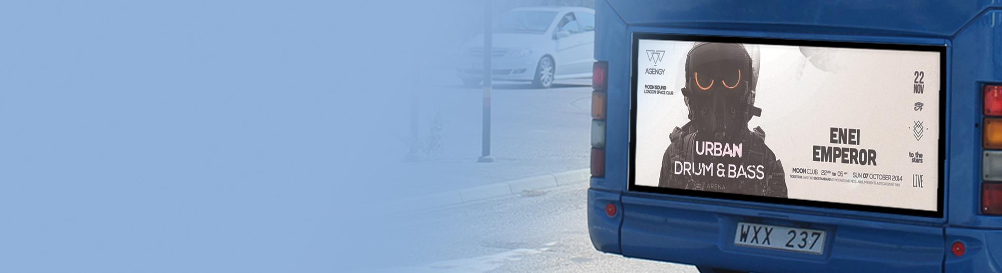 Affiches pour bus au meilleur prix