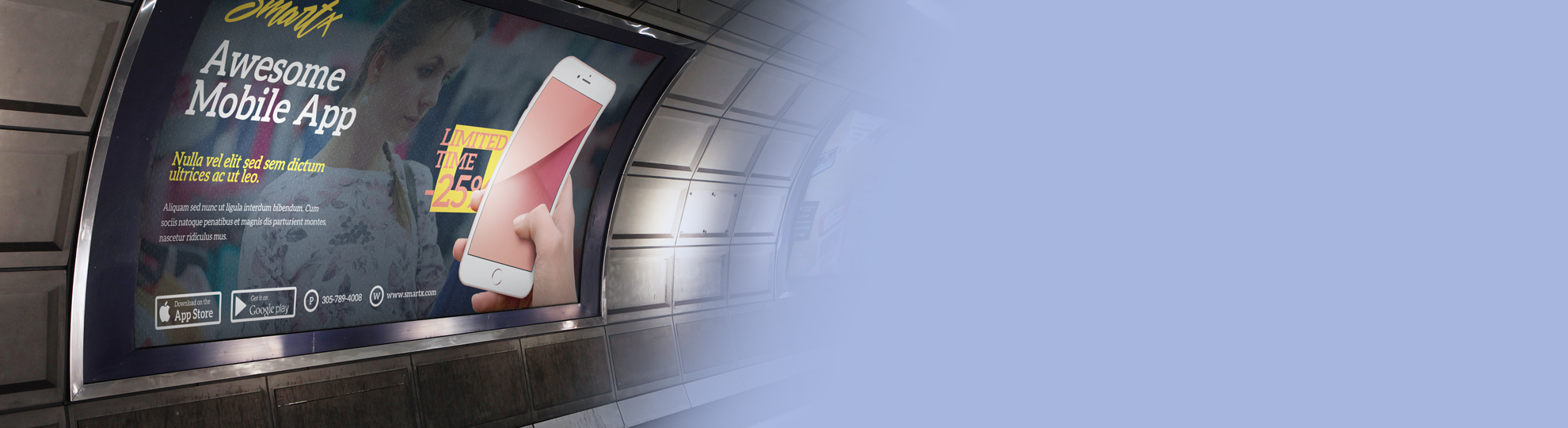 Impression affiches metro grand format