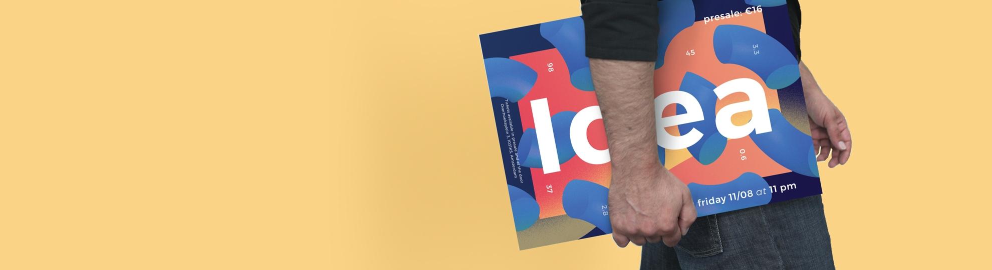 Imprimer en haute définition affiche rigide