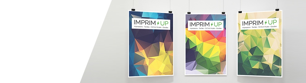 Banniere Imprim Up - Affiches
