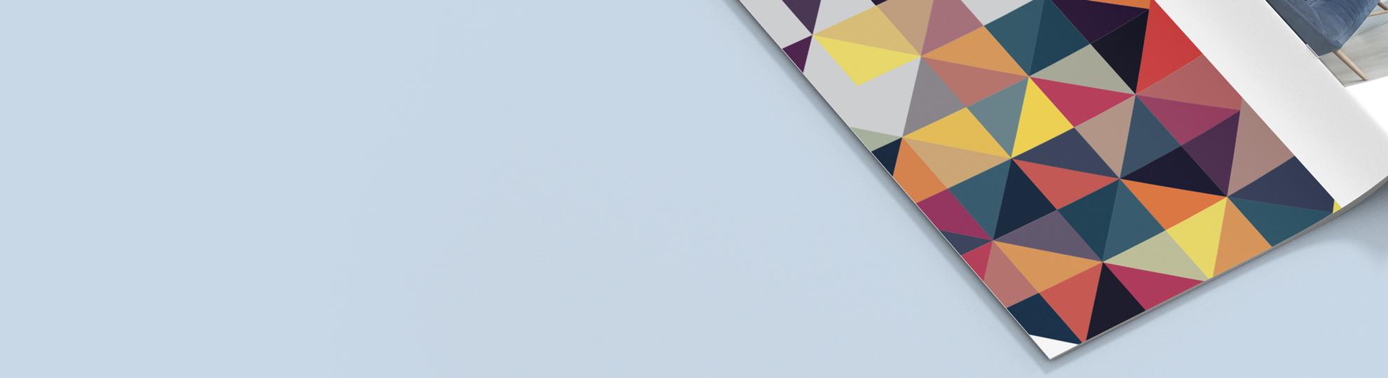 Brochure agrafée avec couverture pas cher