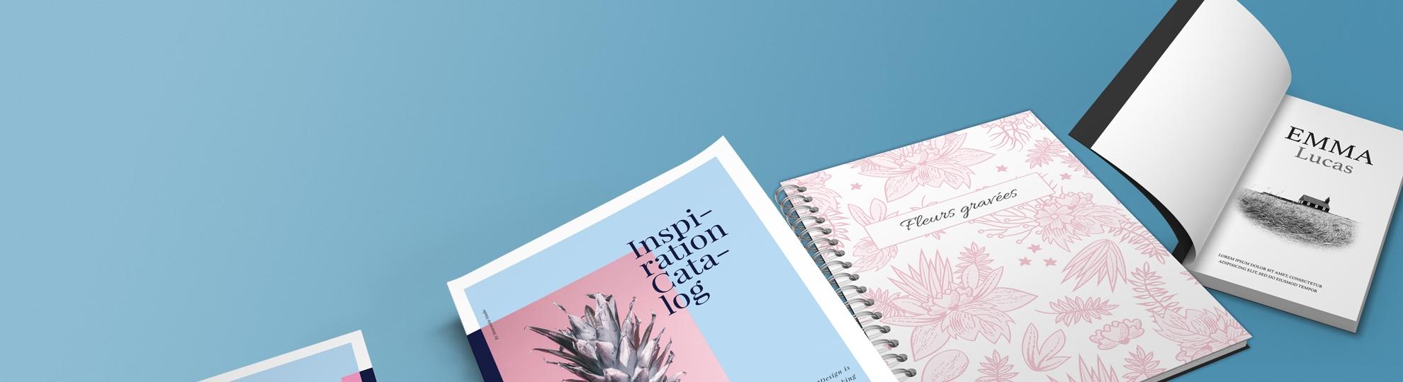 Impression brochures et livrets personnalisés