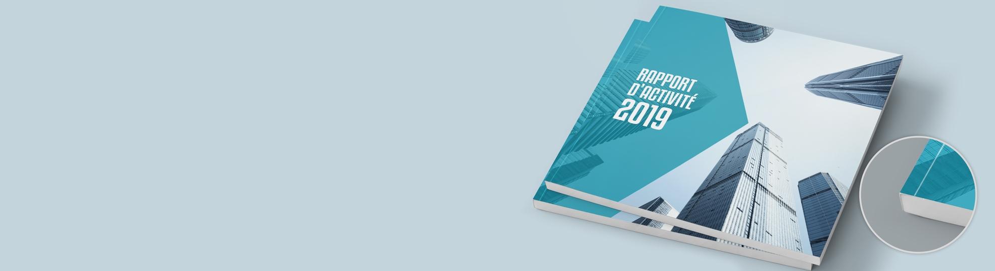 Imprimer brochure dos carré collé