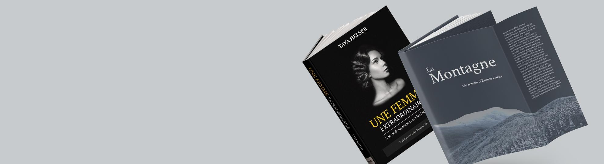 Imprimer Livre de poche et roman