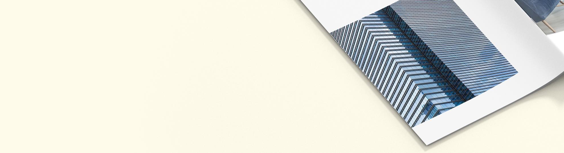 Brochure agrafée pas cher Mat-Brillant 90g