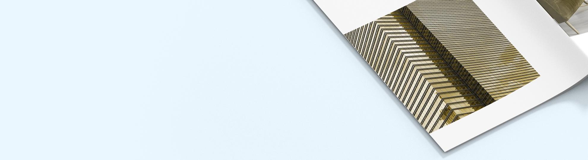 Brochure agrafée pas cher Offset 90g