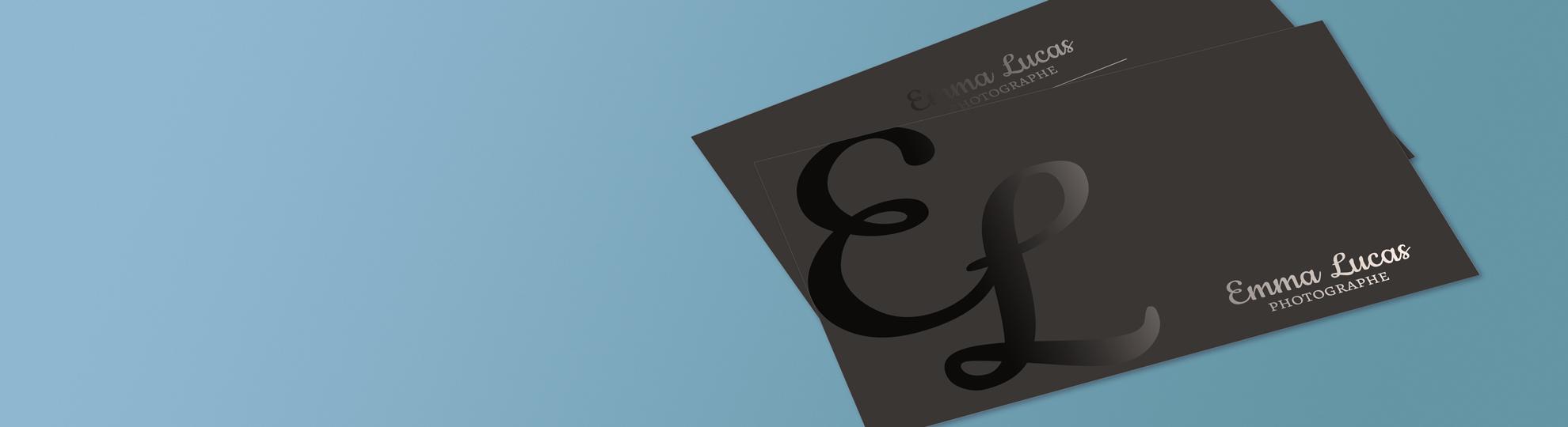 Imprimer carte de visite vernis sélectif