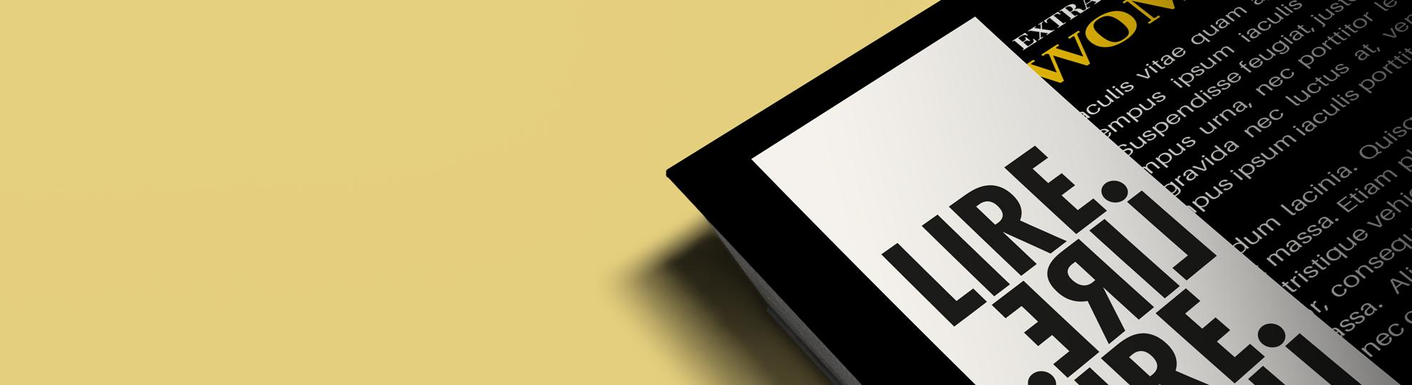 Marque-page personnalisé à imprimer