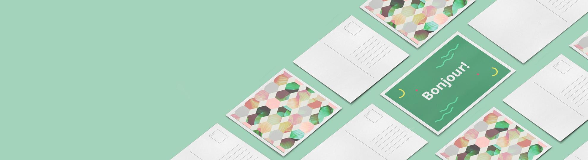 Impression carte postale personnalisée