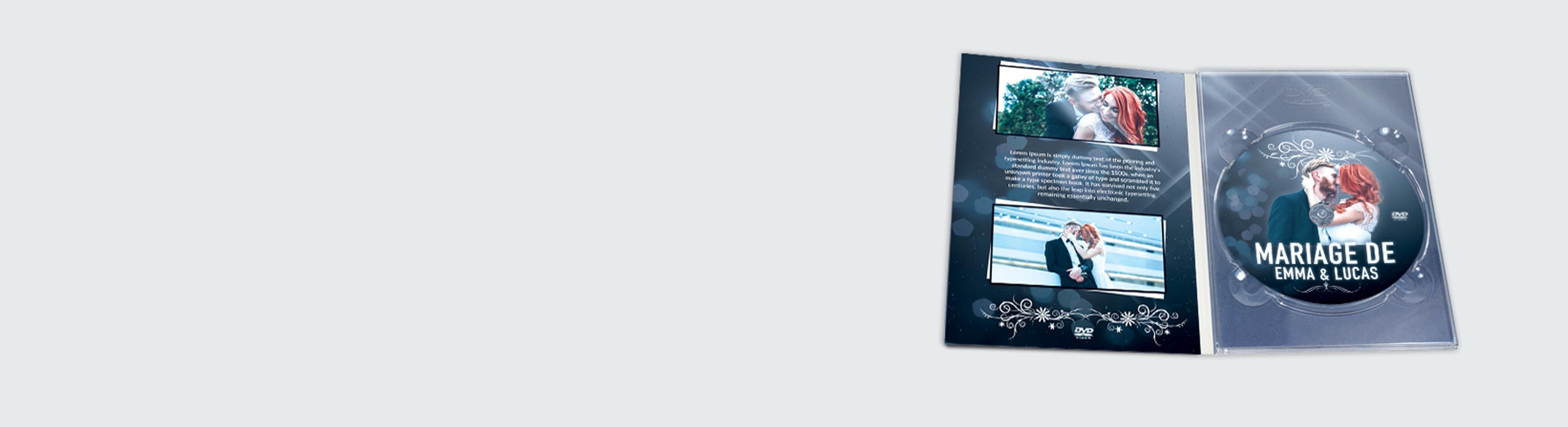 Digipack grand DVD pressage